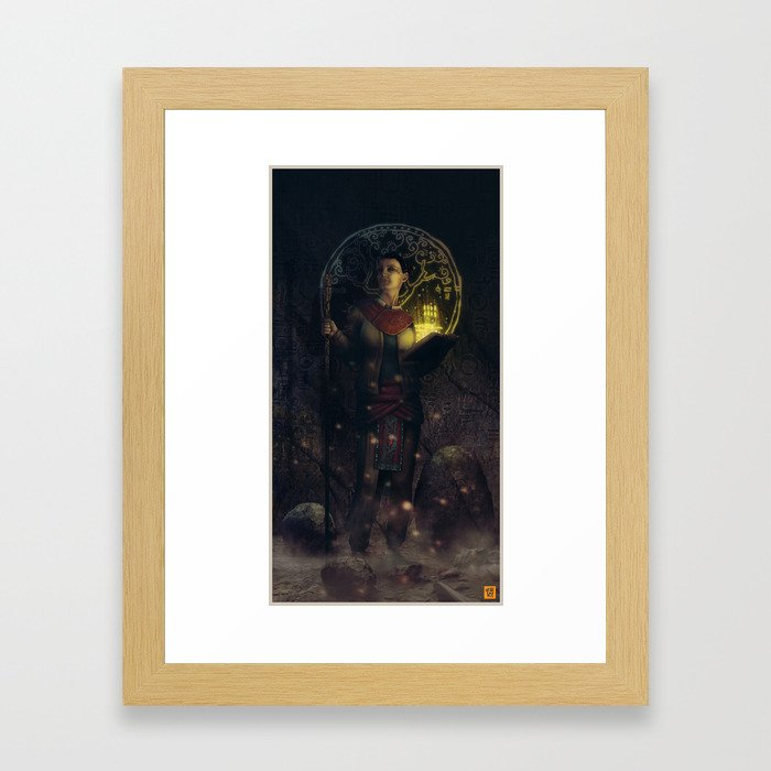 The Grower Framed Art Print