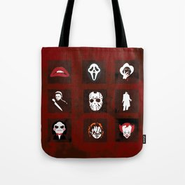 Horror Legends Tote Bag