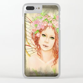 Sweet Solace Clear iPhone Case