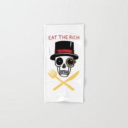 EAT THE RICH Hand & Bath Towel
