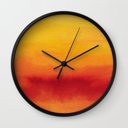 Abstract No. 185 Wall Clock