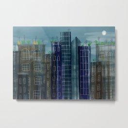 Cityscape 1 Metal Print