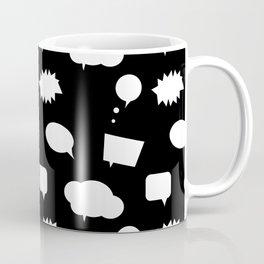 Speech Bubbles Coffee Mug