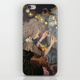 Witch and Cat iPhone Skin
