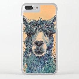 Save the Drama for Your Llama Clear iPhone Case
