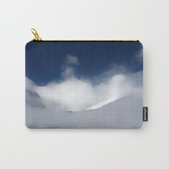 White Mountain Winter Carry-All Pouch