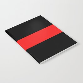 Firefighter: The Thin Red Line Notebook