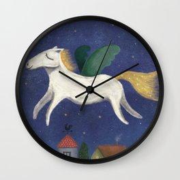 Night Pegasus Wall Clock