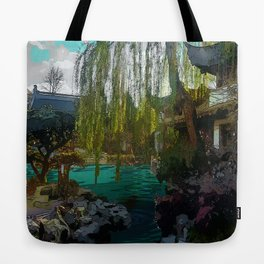 Portland Chinese Garden Tote Bag