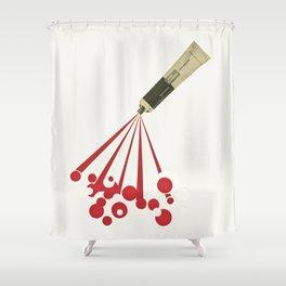 Foamy Shower Curtain