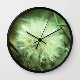 Puffy Day Wall Clock