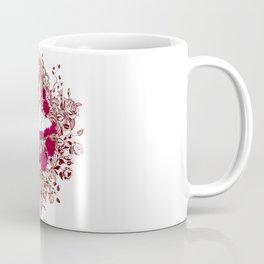 Sexy Woman zombie WITH Flower - Razzmatazz Coffee Mug