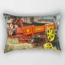 Jones the Baler  Rectangular Pillow