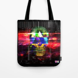 Retro Future Death Tote Bag