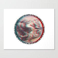 Ce N'est Pas Plat [This is Not Flat] Canvas Print