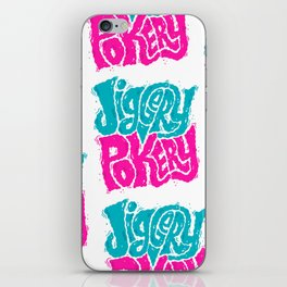 Jiggery-Pokery iPhone Skin