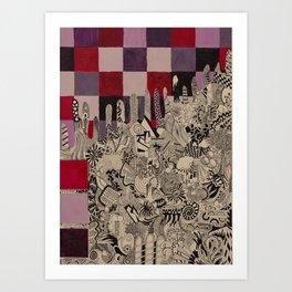 Ataxia Art Print