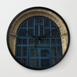 Ancient gates Wall Clock