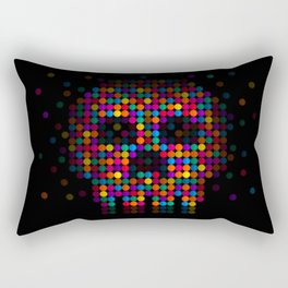 A Colorful Death by Qixel Rectangular Pillow