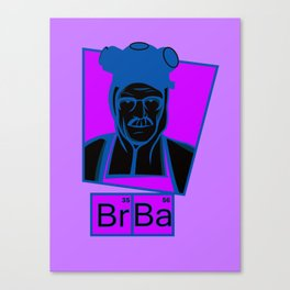 The Cook of Breaking Bad Canvas Print