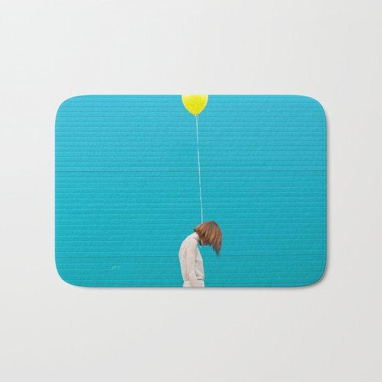 Balloon girl Bath Mat