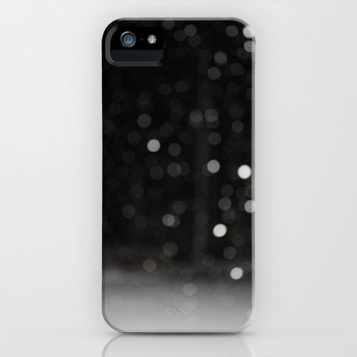 Bokeh Snowfall iPhone Case