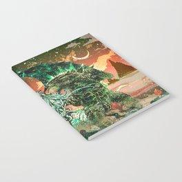 Cthulhu vs Godzilla Notebook