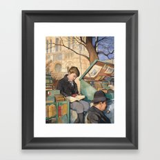 The Bookseller's Son Framed Art Print