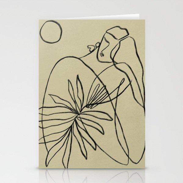 Summer lines V|| Stationery Cards