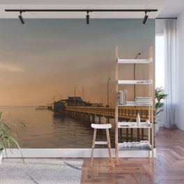 Sun Sets on Fairhope Wall Mural