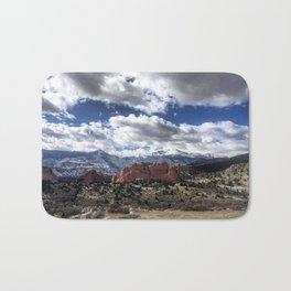 Pikes Peak in Colorado Springs Bath Mat