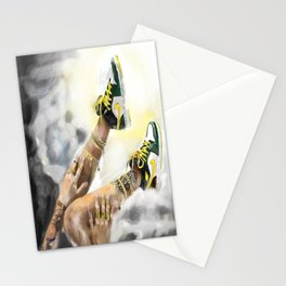 Nike in the sky Stationery Cards