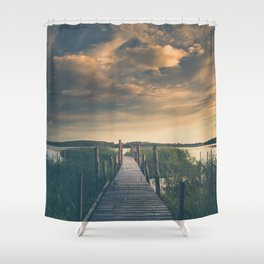 No room for improvement Shower Curtain