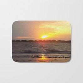 Blazing Sunset Bath Mat