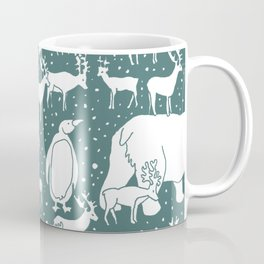 Polar gathering (emerald) Coffee Mug
