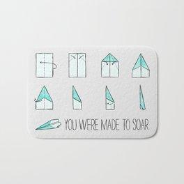 You Were Made To Soar Bath Mat