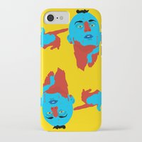 taxi driver iPhone & iPod Cases featuring Taxi Driver by Eduardo Guima