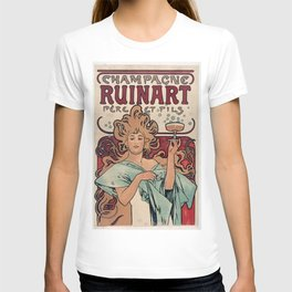 Vintage poster - Champagne Ruinart T-shirt