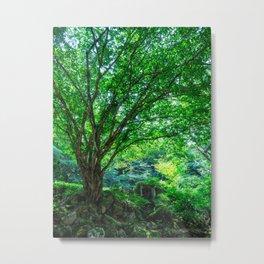The Greenest Tree Metal Print