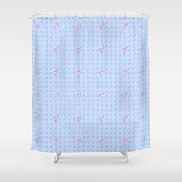 Symbol of Transgender 33 Shower Curtain