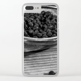 Peppercorns. Clear iPhone Case