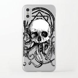 Pieces of Cthulhu Clear iPhone Case