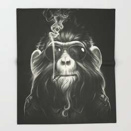 Smoke 'Em If You Got 'Em Throw Blanket