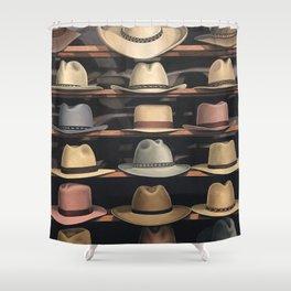Arizona Hats Shower Curtain