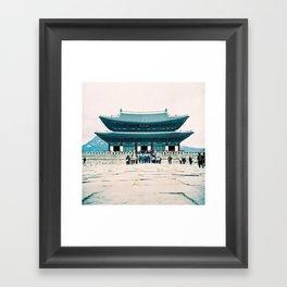Korean Palace Framed Art Print