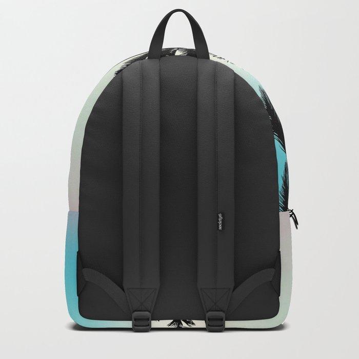 Opal tropical palms Backpack