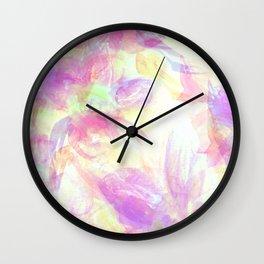 Happy Neons Wall Clock