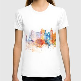 Las Vegas Watercolor Skyline T-shirt