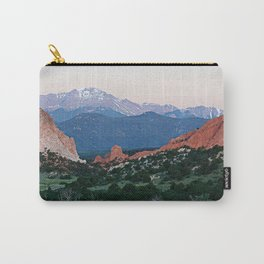 Sunrise at Garden of the Gods and Pikes Peak Carry-All Pouch