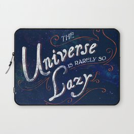 What do we say about coincidence? Laptop Sleeve
